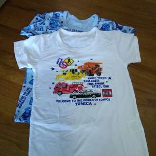 Tomica tee police truck