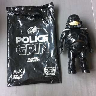 Ron English Black Police Grin (NEW)