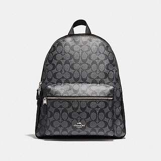 Coach Backpack Signature