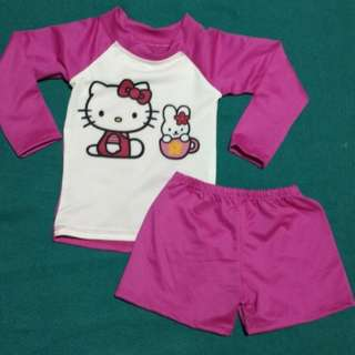 Hello kitty rash guard