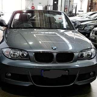 Grey BMW 120i 2010