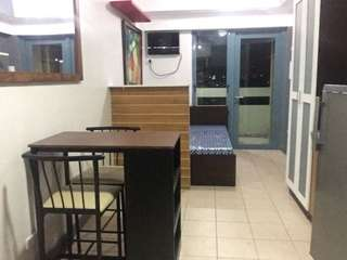 Semi furnished studio with balcony