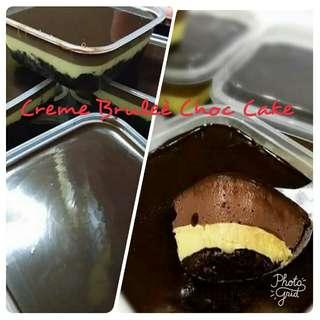 CREME BRULEÈ CHOC CAKE