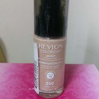Revlon露華濃colorstay超持色粉底液200裸膚色
