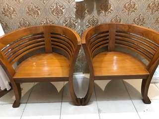 Bangku Kayu siap menghiasi furniture rmh anda