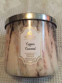 Bath and Body Works Copper and Coconut Candle