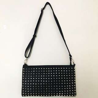 Dotti Gold Studded Purse