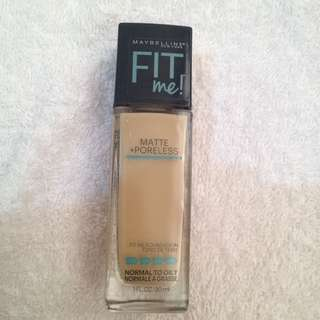 Maybelline Fit me! Matte +Poreless