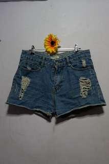 Style Denim Highwaist Short