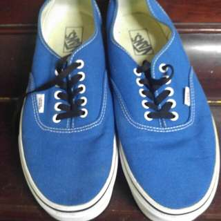 Vans Shoes (Blue)