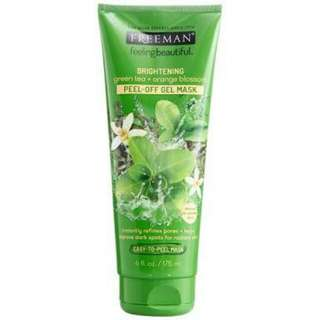 FREEMAN Green Tea & Orange Blossom Peel-Off Mask