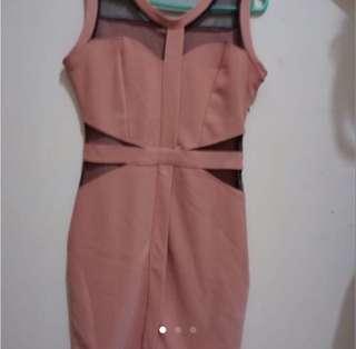 guava bodycon dress
