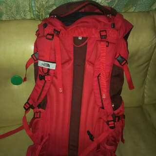 legit north face bag for mountaineering