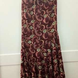 Mermaid Skirt (Skirt Kembang)