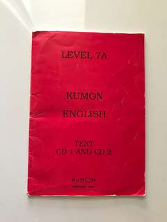 Kumon English Reader K1 / K2