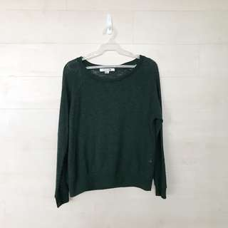 Green Forever21 Sweater