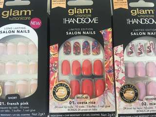 Nails tips brand new 10$ per pack of 24 tip nails