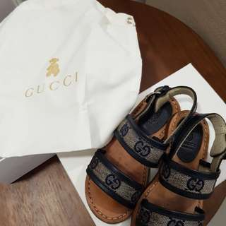 Gucci toddler kids chikdren baby leather