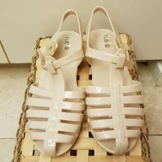 RUBI COTTON ON jelly sandals