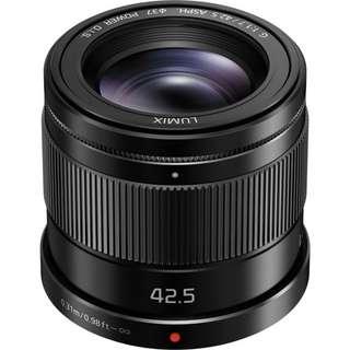 Panasonic Lumix G 42.5mm f1.7 ASPH. POWER O.I.S. Lens