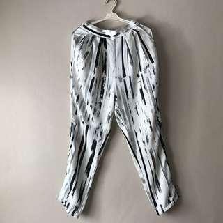 Monki Printed Trousers