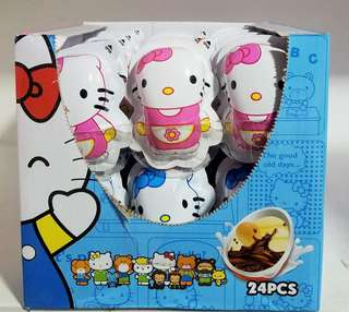 Hello Kitty egg surprise!!