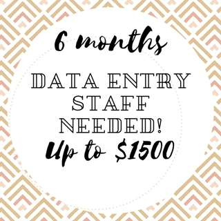 Admin Staff//Tai Seng//Up to $1500