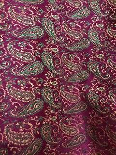 Baju kurung moden songket color biji kundang