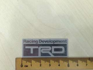 TRD Emblem for Toyota