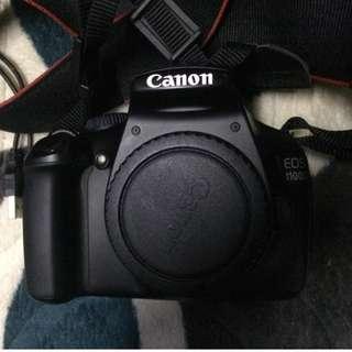 Canon DSLR EOS 1100D (Negotiable)