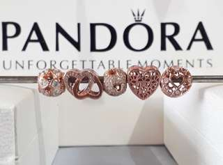 Pandora Rose Gold Charm
