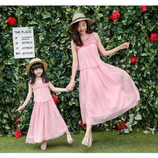 Mother & Daughter dress set