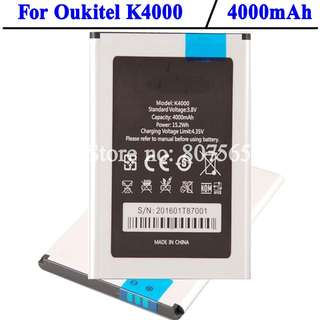 Oukitel k4000 Phone Battery