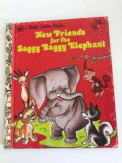 New Friends For The Saggy Baggy Elephant - Little Golden Book