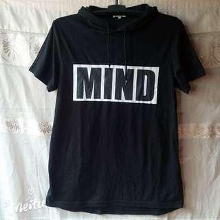 Preloved Mind Tee with hoodie