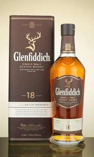 Brand new 700ml Glenfiddich 18 Yo Single Malt Scotch Whisky
