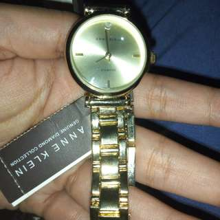 Selling authentic anne klein diamond  watch
