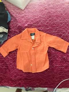 Oshkosh shirt (used once) condition 10/10