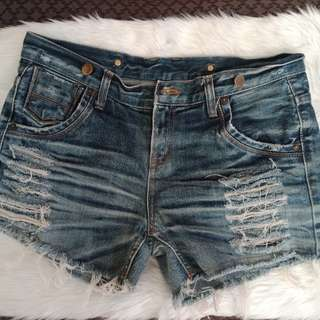 Pre Loved Ripped Shorts