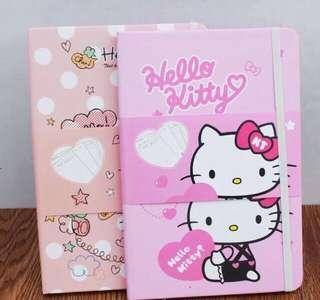 Hello Kitty Hardbound Planner Notebook
