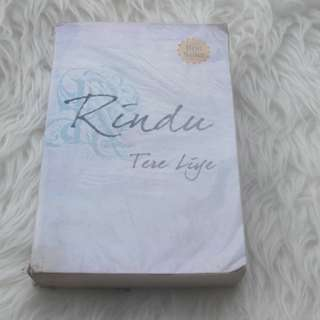 Preloved novel rindu - tere liye original