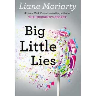 E-book English Novel - Big Little Lies, Liane Moriarty