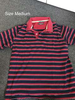 Red/Navy Polo