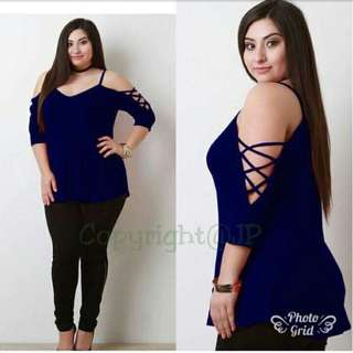 NEW PLUS SIZE TOP (L TO XXL CAN FIT)