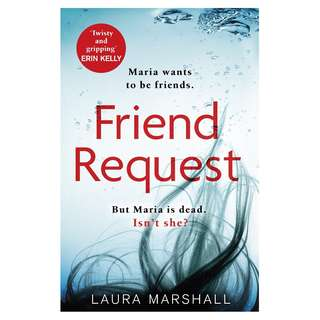 E-book English Novel  - Friend Request by Laura Marshall