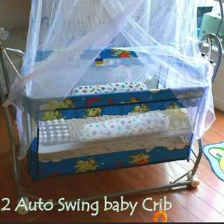 Imported Auto Swing Baby Cradle