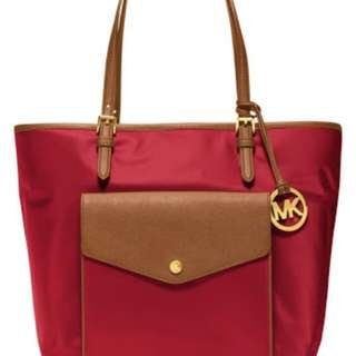 Michael Kors Nylon jet set tote bag