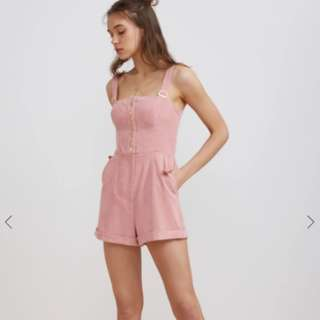 Finders Keepers Prisms Blossom Playsuit