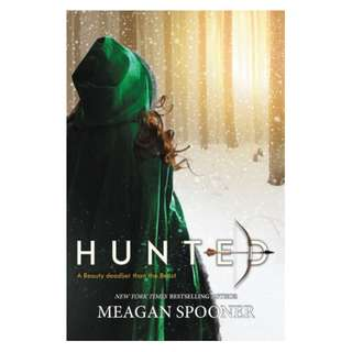 E-book English Novel - Hunted by Meagan Spooner