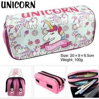 Preorder: Unicorn Design Pencil Case